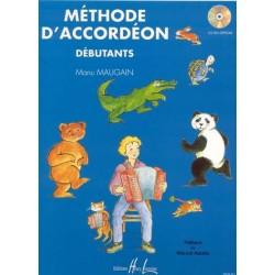 Méthode d´accordéon 1 - Débutants - M. Maugain