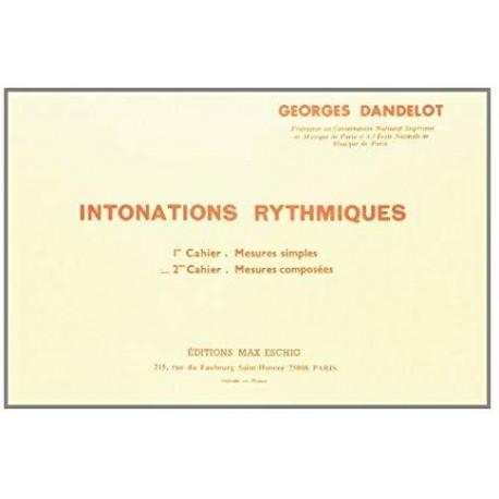 Intonations Rythmiques  2 - Dandelot