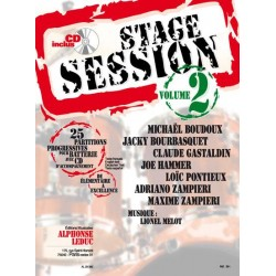 Stage session 2 + CD - Batterie