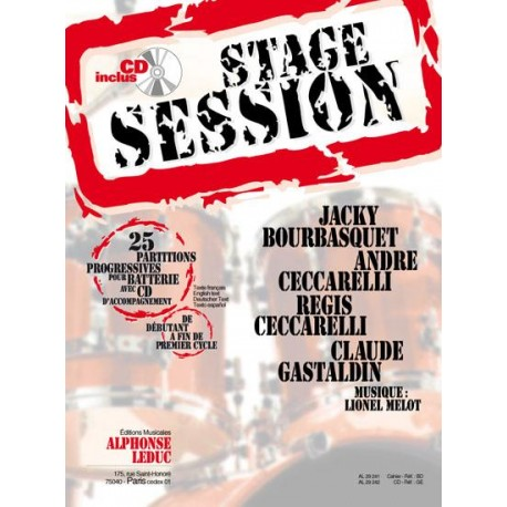 Stage session 1 + CD - Batterie