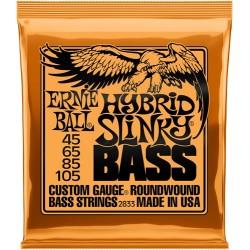 Cordes Basse ERNIE BALL Slinky - Hybrid 45-105