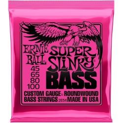 Cordes Basse ERNIE BALL Slinky - Super 45-100
