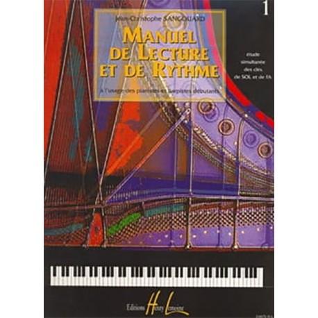 Manuel de lecture et de rythme Vol.1 - J.-Chr. Sangouard