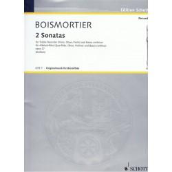 2 Sonates op. 27 - Joseph Bodin de Boismortier - Flute Alto