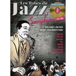 Tubes du jazz saxophone 2 + CD - alto & tenor NEW