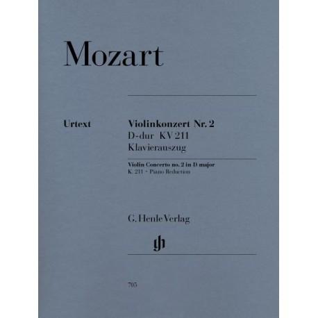Concerto No. 2 D Major Mozart, violon - Piano