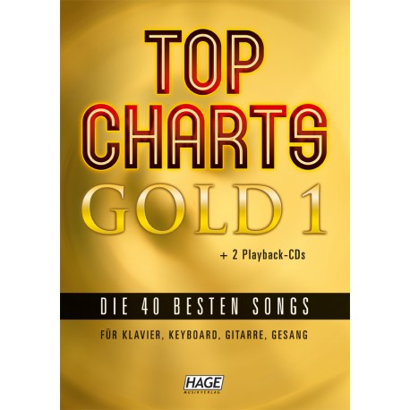 Top Charts Gold 1 + 2 playback-CDs