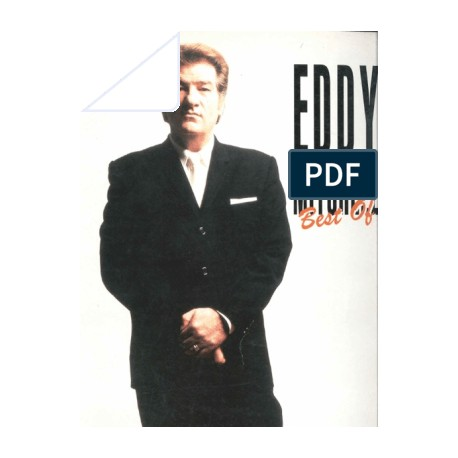 Eddy Mitchell - Best of  - partitions piano