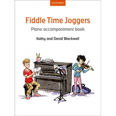 Fiddle Time Joggers 1 - accompagnement piano