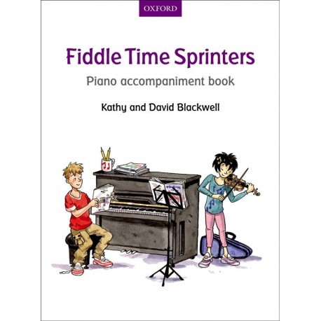 Fiddle Time Sprinters 3 - accompagnement piano