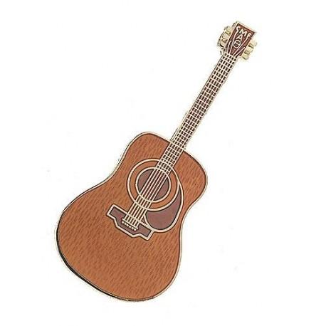 pin's Guitare Acoustique