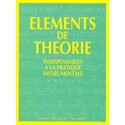 Éléments de Theorie - Sophie Jouve-Ganvert