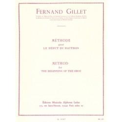 Méthode début du hautbois
