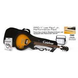 EPIPHONE Les Paul Junior Performance Sunburst + Ampli - Pack Guitare Electrique