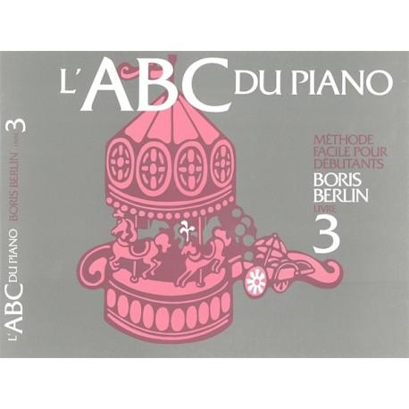 ABC du Piano - Vol. 3 - Boris Berlin - Méthode