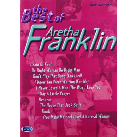 Aretha Franklin the Best Of - liquidation