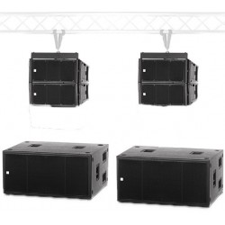 RCF HDL 6 System Line Array 5300 watt RMS