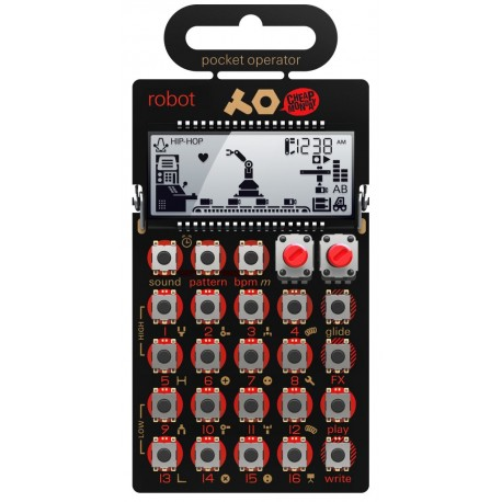 Pocket Operator PO-28 Robot - Synthesizer und Sequencer