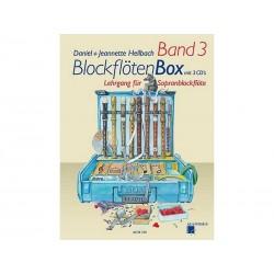 BlockflötenBox Band 3 avec 3 CD's - Soprano