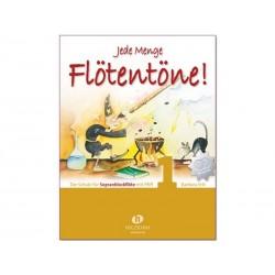Flötentöne 1 + 2 CDs - Jede Menge - partitions flûte à bec