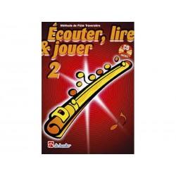Ecouter, Lire & Jouer Flûte 2 - Méthode + 1 CD inclus