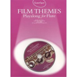 Film themes playalong for flute + 1 CD