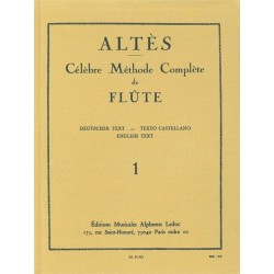 Méthode Complète Vol 1 - Flûte Traversière - liquidation 70%