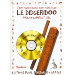 Débuter le Didgeridoo + CD - Méthode