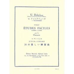 20 études faciles - Delécluse  - Clarinette