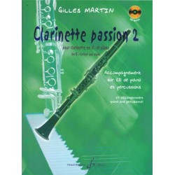 Clarinette Passion 2 - Clarinette + Piano + CD