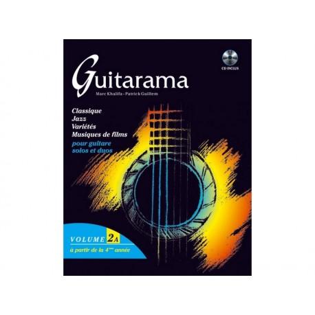 Guitarama 2A - 48 titres + CD