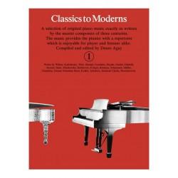 Classics To Moderns 1 - Piano