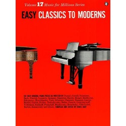 Easy Classics To Moderns - Piano