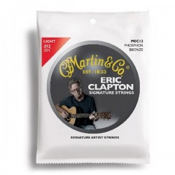 Martin E. Clapton Acoustic 92/8 Phosphor Bronze 12-54 Light