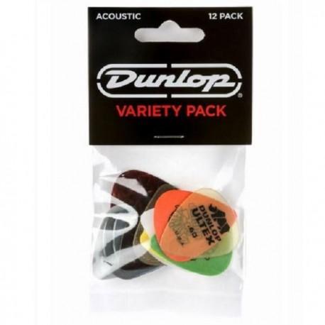 Plectres Acoustique Guitare - Variety Pack 12 pièces