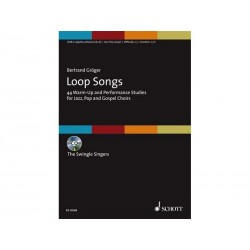 Loop Song - 40 excercices - Chant + CD
