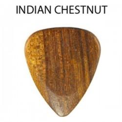 """Plectres Bois MK11 """"Chestnut"""" Maronnier 2 à 3mm"""