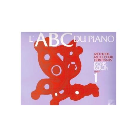 ABC du Piano - Vol. 1 - Boris Berlin - Méthode