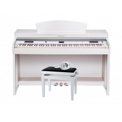 Kurzweil KA150 Palisander Digital Piano White - Pack