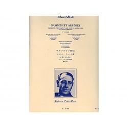 Gammes et Arpèges Vol 1 - Saxophone