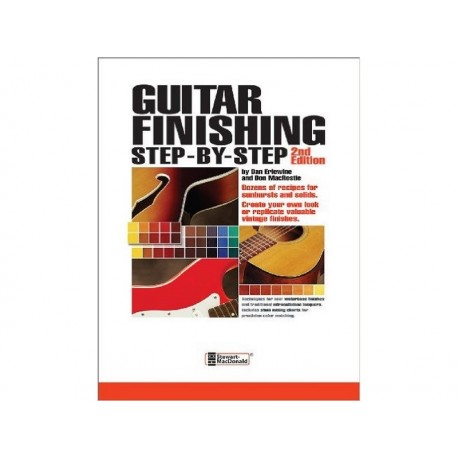 Guitar Finishing Step-by-Step - in English