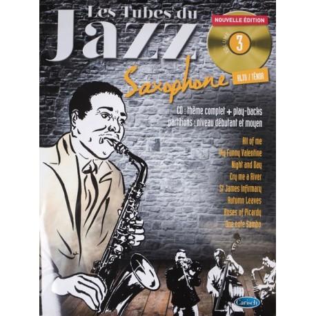 Tubes du jazz saxophone 3 + CD - alto & tenor NEW