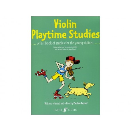 Keyser Violin Playtime Studies