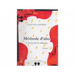 Méthode d'alto Vol 1 - Joubert - Alto