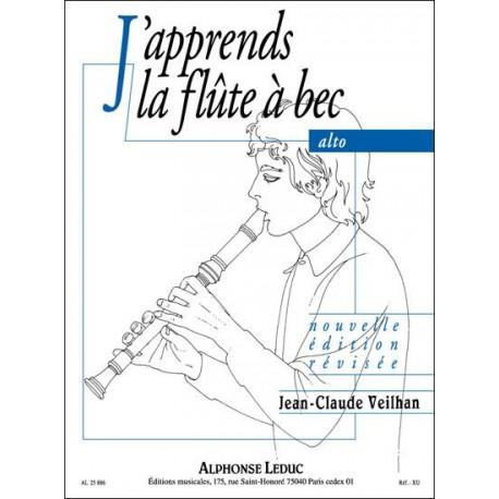 J'Apprends La Flute À Bec Alto - Veilhan