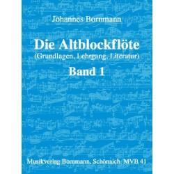 Die Altblockflöte, Band 1 - Bornmann