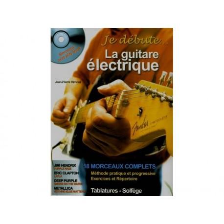 Je débute la guitare électrique + CD