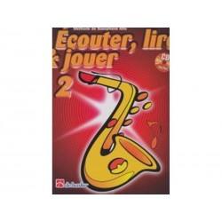 Ecouter lire & jouer 2 - Sax Alto + CD