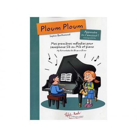 Ploumploum : mes premières mélodies pour sax