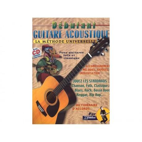 Débutant guitare acoustique + CD